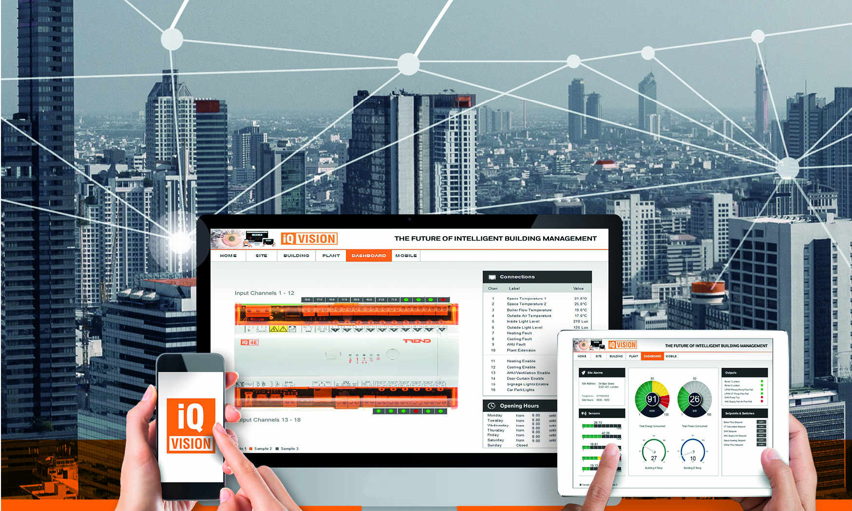 Trend announces latest development of its successful IQ™VISION Software to monitor, manage and control smart buildings & estates
