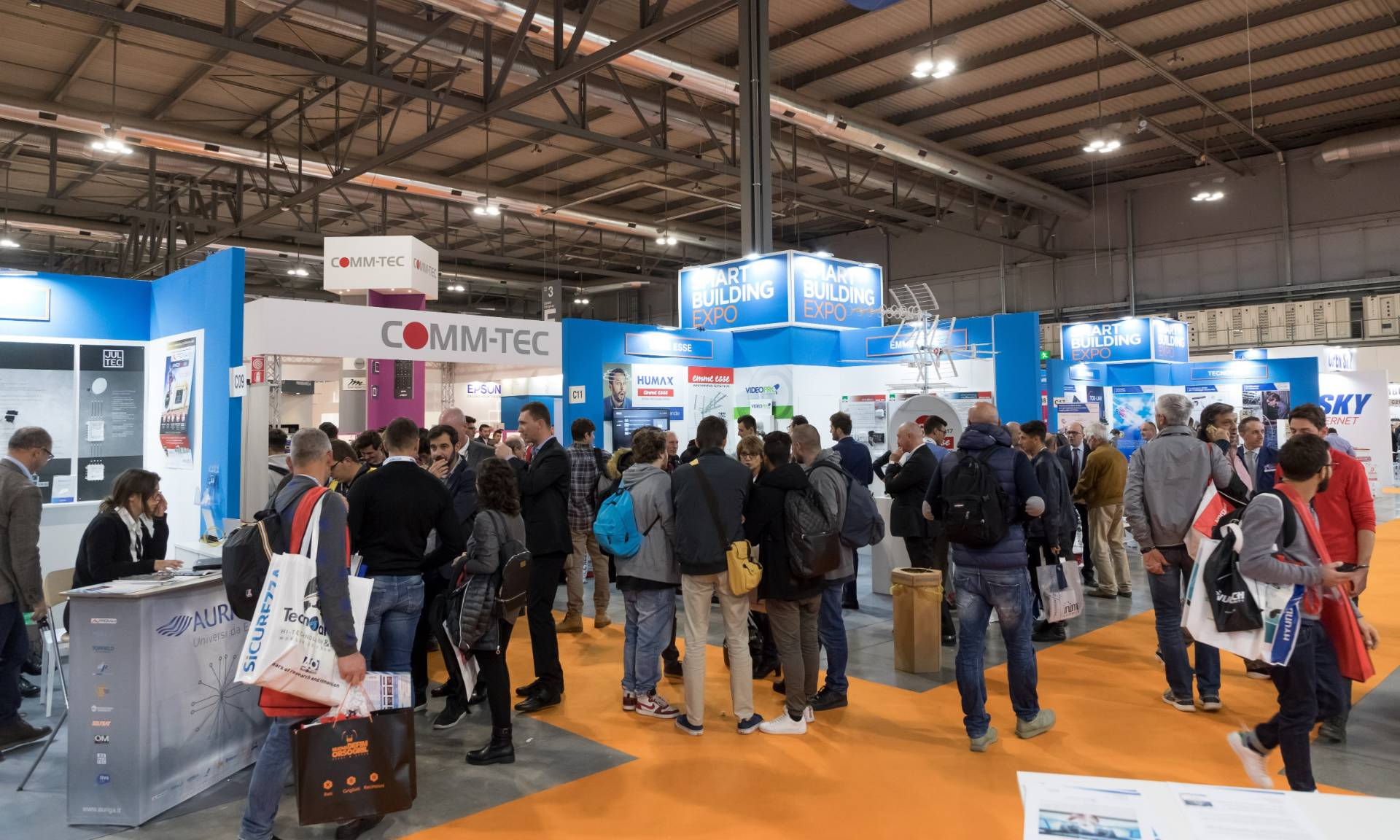 Smart Building Expo 2019: Convergence in the digital era