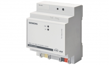 Siemens visualization controller combines all-in-one functions for customized room comfort
