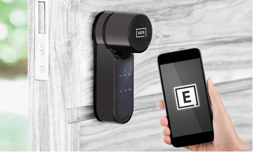 The ENTR® smart door lock: convenient, secure and easy to install